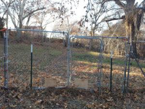 fixed gate